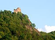 Zamek Chojnik - ruiny średniowiecznego zamku w Jeleniej Górze-Sobieszowie