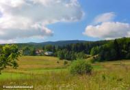 Jagniątków - widok z górnego Jagniątkowa